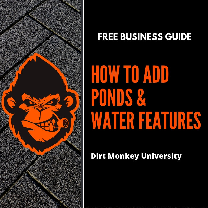 Free Guide - How to Add Ponds & Water Features to Your Business