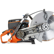 "Load image into Gallery viewer, FREE SAW DEAL – HUSQVARNA K770 & (10) 14"" SILVER BULLET PRO SERIES"