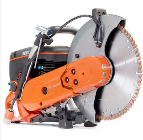 "FREE SAW DEAL – HUSQVARNA K770 & (12) 14"" SHOCKER BLADES RX13 PRO SERIES"