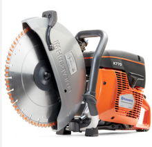 "Load image into Gallery viewer, FREE SAW DEAL – HUSQVARNA K770 & (12) 14"" SHOCKER BLADES RX13 PRO SERIES"