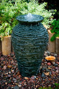 Stacked Slate Urn - Small Kit