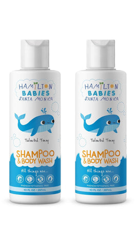 2 piece Hamilton Babies Shampoo & Body wash