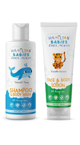 2 Piece Kit Shampoo/Body Wash & Face & Body Lotion