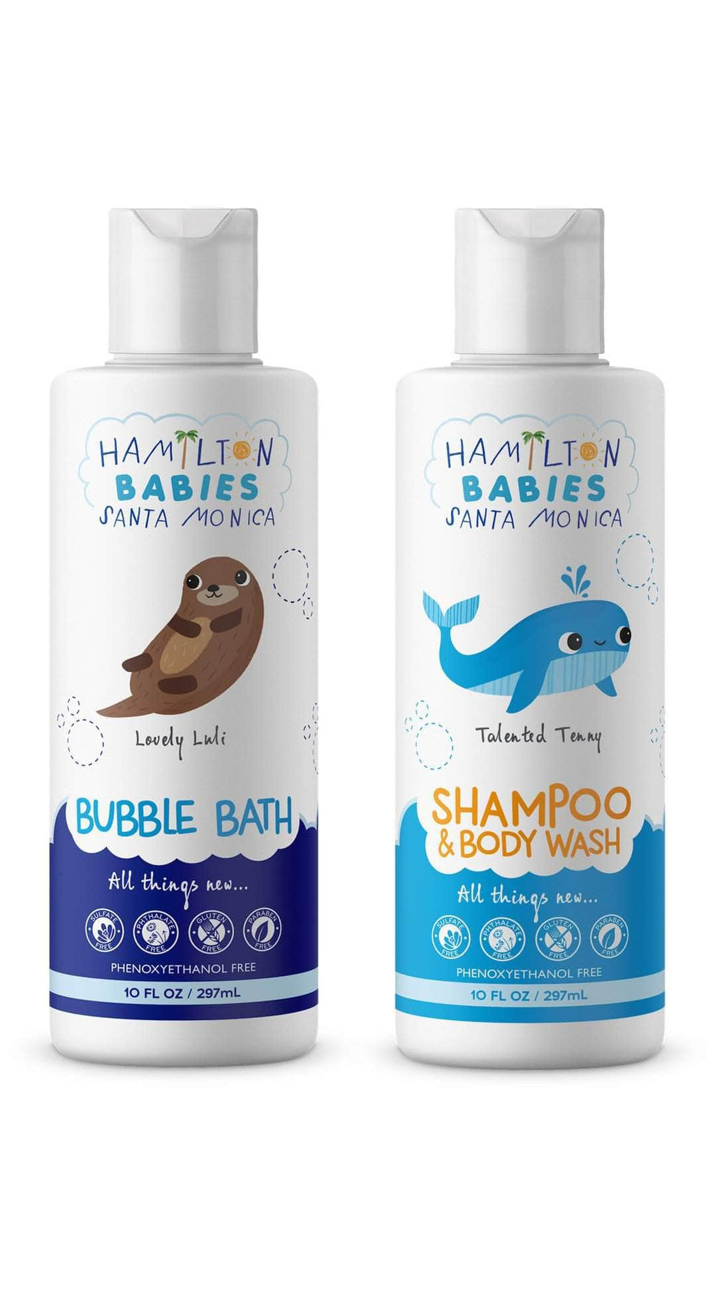 2 Piece Kit Shampoo/Body Wash & Bubble Bath