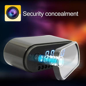 TimeSpy™ - Motion Activated Cam Clock w/ Infrared Night Vision