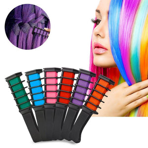 CaliComb™ Professional Temporary Hair Dye Comb (6 Color Set OR Individually)