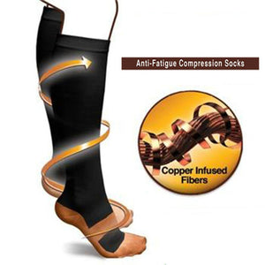 Anti-Fatigue Copper Compression Socks