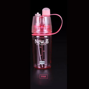 NEW Self-Spray Mist Water Bottle