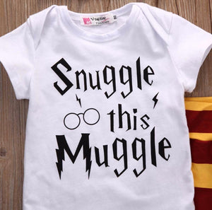 """Snuggle this Muggle"" Harry Potter 3pc Baby Set"
