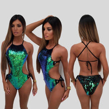 Medusa Sequin Bathing Suit
