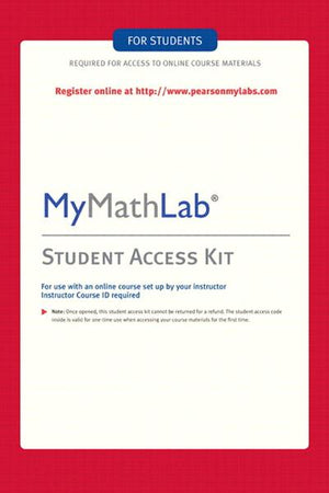 Pearson MyMathLab Standalone Access Code