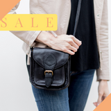 Mini Myra Leather Satchel Indian Lace (black) 40%OFF