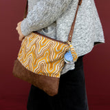 Puja Crossbody Bag - Yellow Batik