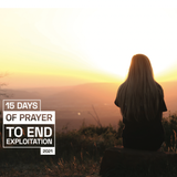 15 Days of Prayer Guide to End Exploitation 2021 (Bulk quantity pricing)