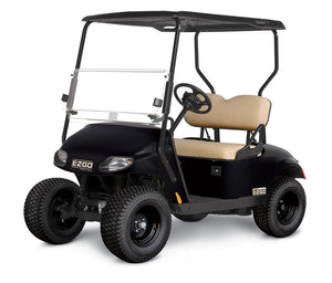 New 2019 EZGO Valor Gas Black