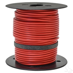 Primary Wire 100ft, Red  16GA,