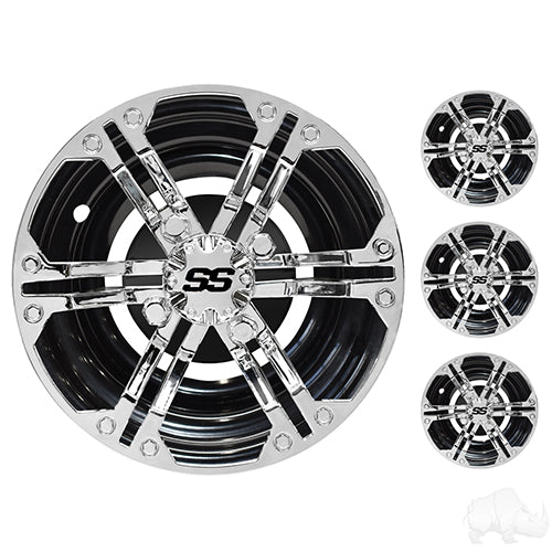 Wheel Cover, Set of 4, 10