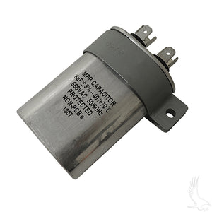Capacitor, 6 MF, E-Z-Go PowerWise II, Lester Replacement