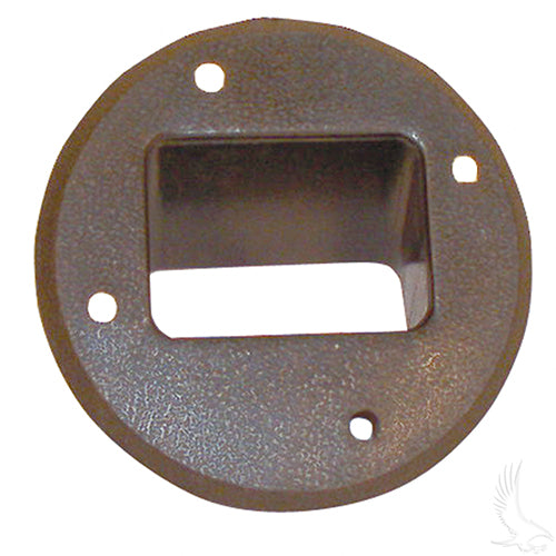 Receptacle Bezel, DC, Club Car 36V Electric 85+