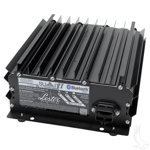 Battery Charger, Lester Summit Series High Frequency, 19.5A 24V-48V, Crowsfoot