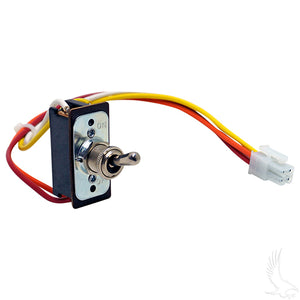 Run/Tow Switch, Toggle 48V PDS, DCS, E-Z-Go TXT