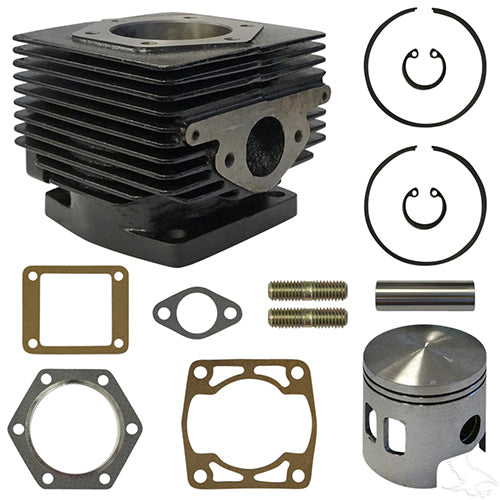 Overhaul Kit, Top End, E-Z-Go 2-cycle Gas 89-93