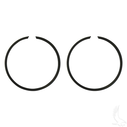 Piston Ring Set, PACK OF 2 Standard, E-Z-Go 2-cycle Gas 76-94