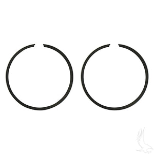 Piston Ring Set, PACK OF 2 +.25mm, E-Z-Go 2-cycle Gas 76-94