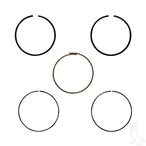 Piston Ring Set, Standard, E-Z-Go 4-cycle Gas 92+ 350cc