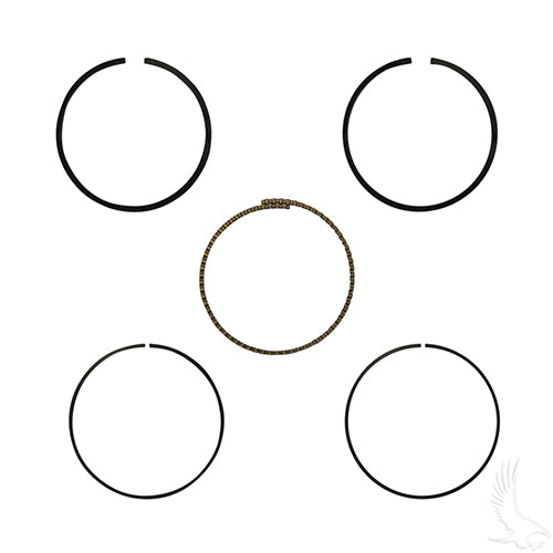 Piston Ring Set, +.25mm, E-Z-Go 4-cycle Gas 92+ 350cc