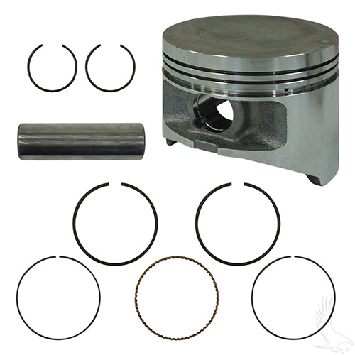 Piston and Ring Assembly, .25mm, Yamaha G22, G29 Gas 03+