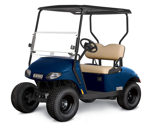 NEW 2020 EZGO Valor Gas EFI Blue