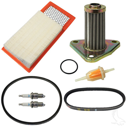 Deluxe Tune Up Kit, E-Z-Go 4-cycle Gas 94-05 w/Oil Filter
