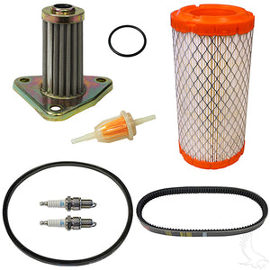 Deluxe Tune Up Kit, E-Z-GO295/350cc 4-cycle Gas 96+ w/Oil Filter