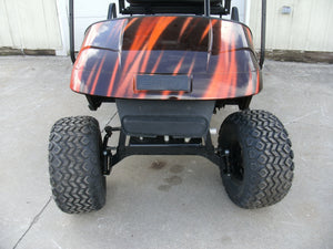 2013 EZGO RXV Black and Orange 13hp Kawasaki