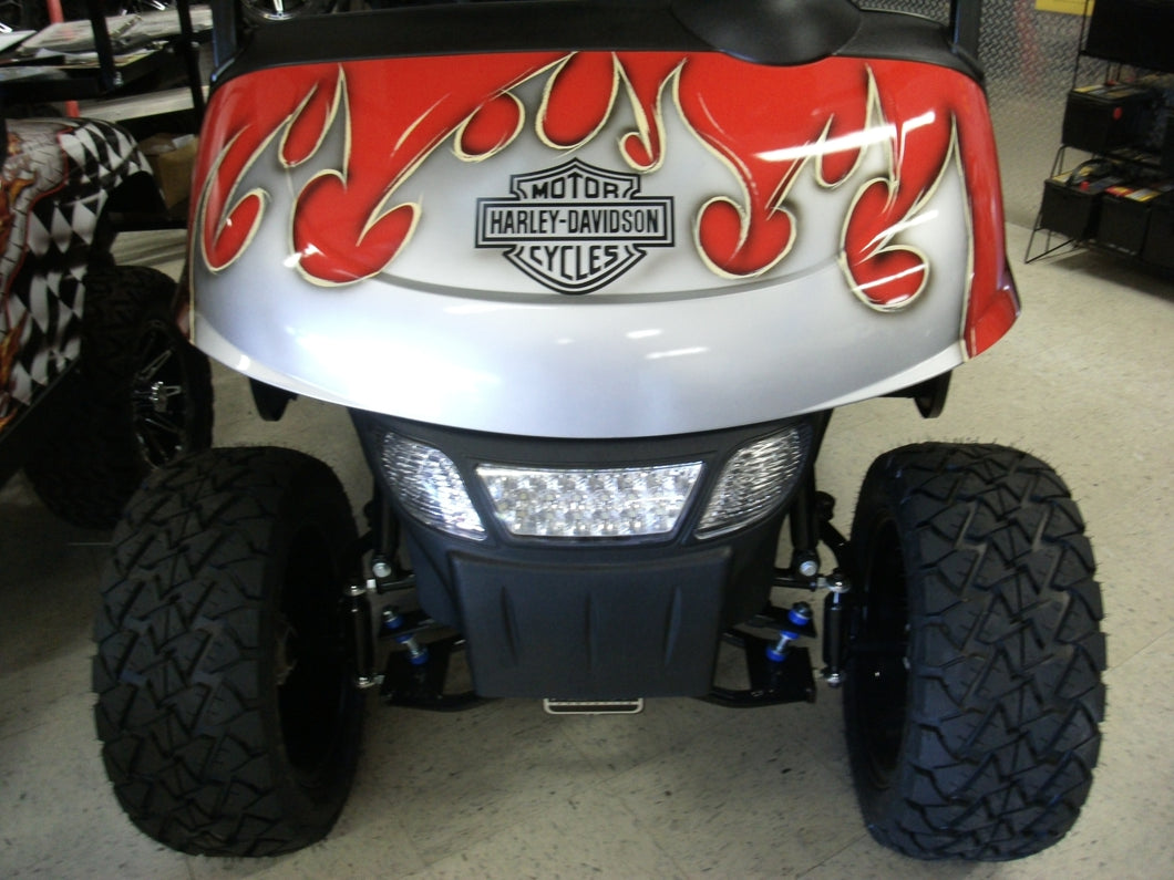 2019R EZGO RXV Harley Tribal Gas