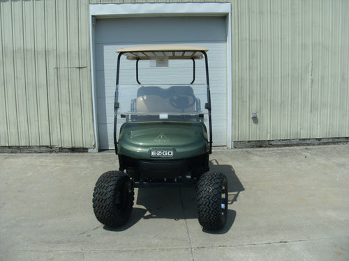 2016 Lifted EZGO TXT   13.5 hp Oasis Green