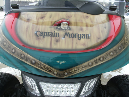 2019 Refurbished Captain Morgan EZGO RXV