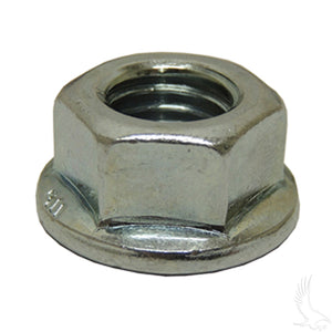 Flange Jam Nut, Front Axle, 14mm-2, Club Car Precedent, DS 03.5+