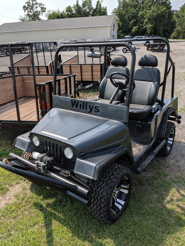 1988 Club Car WILLYS Jeep Golf Cart