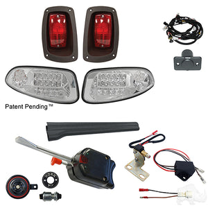 Build Your Own LED Factory Light Kit, E-Z-Go RXV 2016+, Basic, Gas