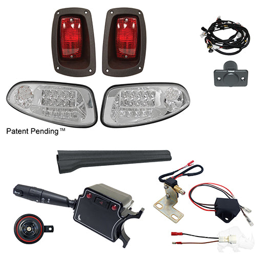 Build Your Own LED Factory Light Kit, E-Z-Go RXV 2016+, Deluxe, Gas