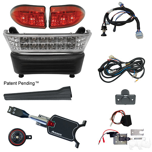 Build Your Own LED Light Bar Kit, Club Car Precedent, Electric 08.5+, 12-48v (Standard, Linkage)
