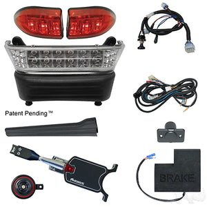 Build Your Own LED Light Bar Kit, Club Car Precedent, Electric 08.5+, 12-48v, (Standard, OE Fit)