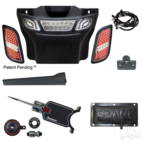 Build Your Own LED Light Bar Kit, E-Z-Go RXV 08-15 (Basic, Pedal Mount)