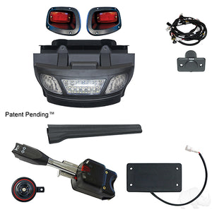 Build Your Own Light Bar Bumper Kit, Complete, LED, E-Z-Go TXT 14+