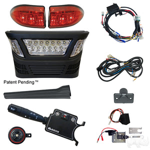 BYO LED Light Bar Kit, Club Car Precedent, Gas & Electric 04-08.5, 12-48v, (Deluxe, Linkage)