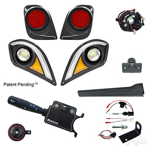 BYO LED Light Kit w/ RGBW LED Running Light, Yamaha Drive2 (Deluxe, Brake Switch Kit)