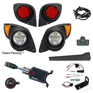 Build Your Own LED Factory Light Kit, Yamaha Drive 07-16 (Standard, Brake Switch Kit)