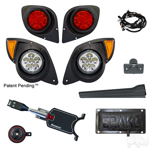 Build Your Own LED Factory Light Kit, Yamaha Drive 07-16 (Deluxe, Pedal Mount))